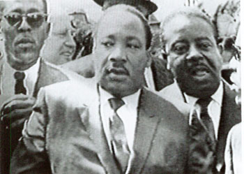 Photo of Martin Luther King, Jr. by Ernest Withers