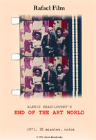 End of the Art World Still with Andy Warhol